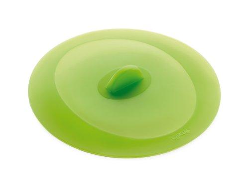 Lékué Couvercle Hermétique Rond Silicone Platine 25 cm Vert Tools