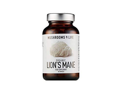 Mushrooms 4 Life Organic Lion's Mane 60 Capsules, 0.02298 kg