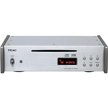 TEAC Reference 501 CDプレーヤー DSD/PCMディスク再生/ハイレゾ音源対応 シルバー PD-501HR-S