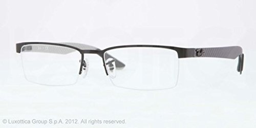 Ray-Ban 2503 0RX8412 54 0RX8412 Negro mate 54mm Gafas de sol
