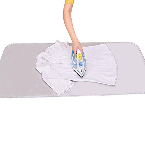 IKENOKOIアイロンマット 折り畳み可 コットン 耐熱 収納便利 両面使える(55*120cm)