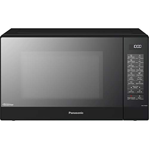 Panasonic PA4600 NN-ST46KBBPQ Microwave, Black, 18 8 Stainless Steel, 32 liters