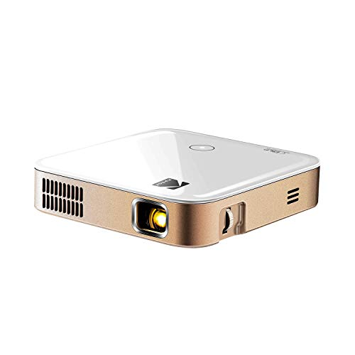KODAK Luma 350 Portable Smart Projector w/Luma App | Ultra HD Rechargeable Video Projector w/Onboard Android 6.0, Streaming Apps, Wi-Fi, Mirroring, Remote Control & Crystal-Clear Imaging