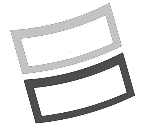 3 x Schutzfolie für Jura GIGA 6 - X3 - X6 - X8 - X10 (Neue Generation ab 2020) Tassenablage, Abtropfblech, Tassenplattform