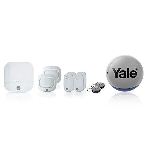 Yale IA-322 Alarme Maison Connectée Compatible Animaux Sync, Système Anti-Intrusion sans Fil...