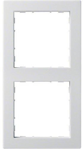 Hager Rahmen 2-f. bril/ws WYR120 kallysto.pur Abdeckrahmen 3250617020794