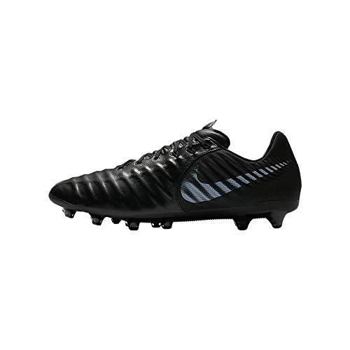 Nike Herren H-Fußballschuh Tiempo Legend VII AG-PRO Fitnessschuhe, Schwarz (Black/Black 001), 45 EU