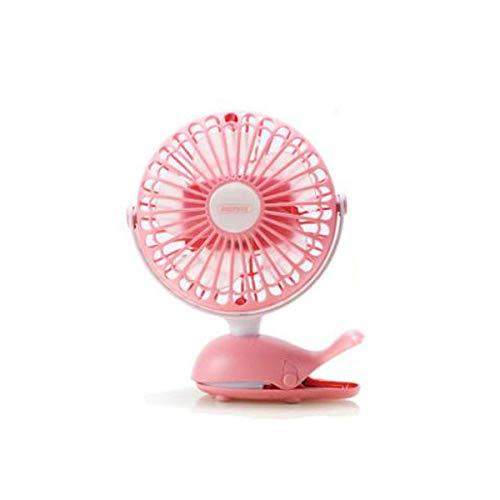 YO-TOKU USB Fans, Bureau Personal Fan, USB-ventilator, mini ventilator, Clip-on Bed, Portable, kinderen niet Hurt Hands, Mute, Blauw, Groen, Pink (Kleur: Blauw) USB Gadgets