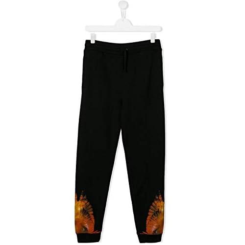 MARCELO BURLON Luxury Fashion Bambini E Ragazzi 30030020B010 Nero Joggers | Autunno Inverno 19