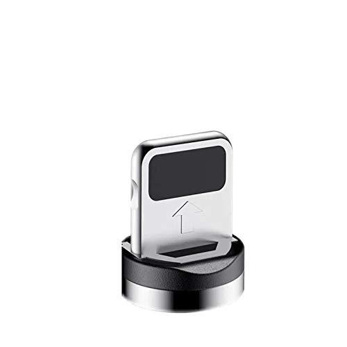 GBHD Lector de Tarjetas SD Cable Negro Negro Micro USB Tipo C Cable de Cargador, Adecuado para iPhone Huawei Samsung Teléfono Android 1M Cable (Color : For iPhone)