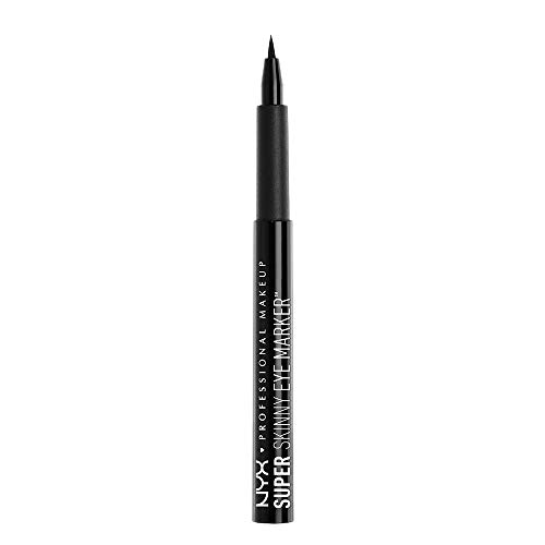 NYX Professional Makeup Super Skinny Eye Marker Carbon Black 1er Pack(1 x 0.021999999999999999 g)