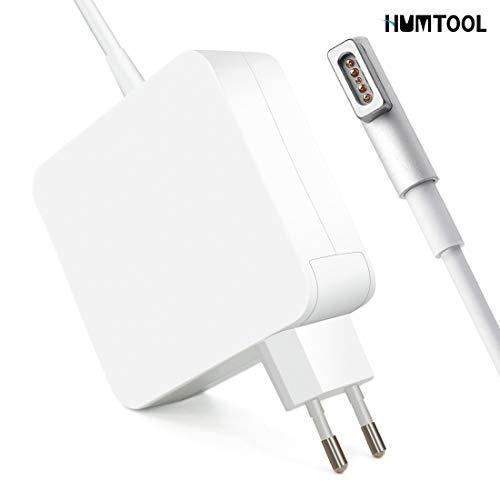 """Humtool Adaptador de Corriente 60W MagSafe 1 para MacBook Pro Forma de L para Macbook Pro 13\"""" (Antes de Mediados de 2012) - A1278, Macbook 13\"""" (Desde Finales de 2009) - A1181"""