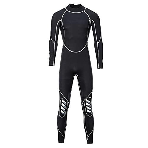 XMSIA Traje de Buceo Corporal para Hombres Surfing Kayaking Canoeing Buceo Pantalones de Buceo Adultos Sauna Traje Agua Deportes Mojado Trajes Detalles Pantalones para Hacer Surf,Nadar,Bucear