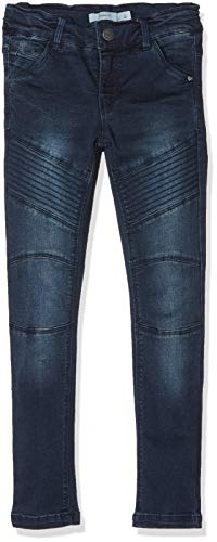 NAME IT NAME IT Mädchen NKFPOLLY DNMTEONA 3078 Pant NOOS Jeans, Blau (Dark Blue Denim Dark Blue Denim), 92