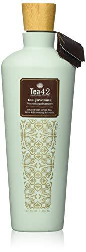 Tea42 - Premium Nourishing Shampoo, Infused Caffeinated Hair Care, Sulfate-Free, 12 Ounce
