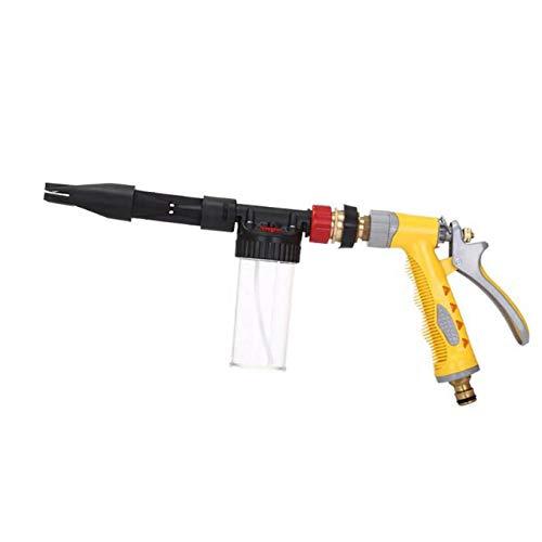 Autowaschwasserpistole, Multifunktionale Schaumwasserwaschpistole, Gartenwassersprühautowaschanlage