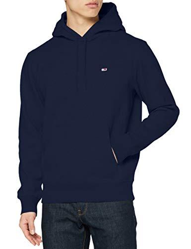 Tommy Hilfiger Herren TJM Regular Fleece Hoodie Pullover, Marineblau (Twilight Navy), L