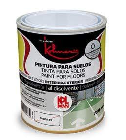 KOLMER - Pintura suelos clorocaucho kolman 750 ml rojo vivo