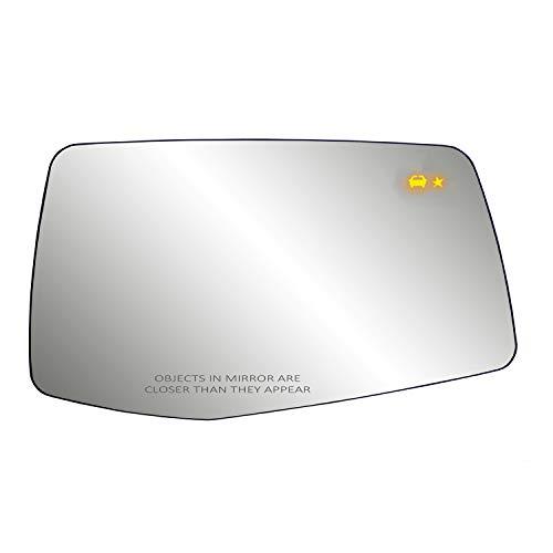 Heated Repl. Glass for Silverado/Sierra 1500, w/Blind Spot Detection, RH