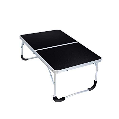 LINA Table d'ordinateur Portable de lit, Table de Pique-Nique extérieure de Table Pliante Portable Facile à Transporter, 62x42x27.5cm