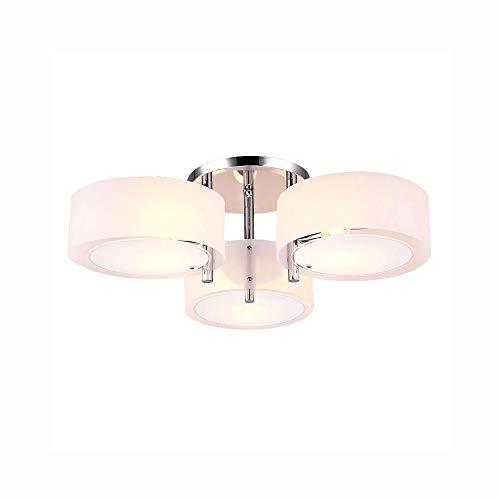 LIUTIAN Araña, lámpara del Techo 3 x E26 E27, lámpara del Techo habitación Circular Creativo de iluminación