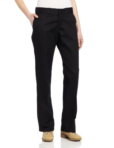 Dickies Women's Original 774 Work Pant, Black, 6 Regular