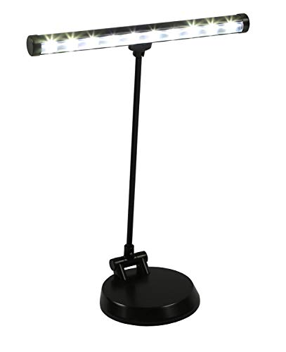 Alneo Light Sunlight Lampe de Piano / Lampe de Bureau LED avec 10 Power LED - Batterie,...