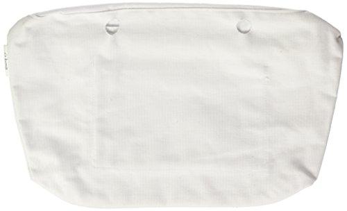 O bag OBCV01, Borsa a Mano Donna, Bianco, 29x25x9 cm (W x H x L)