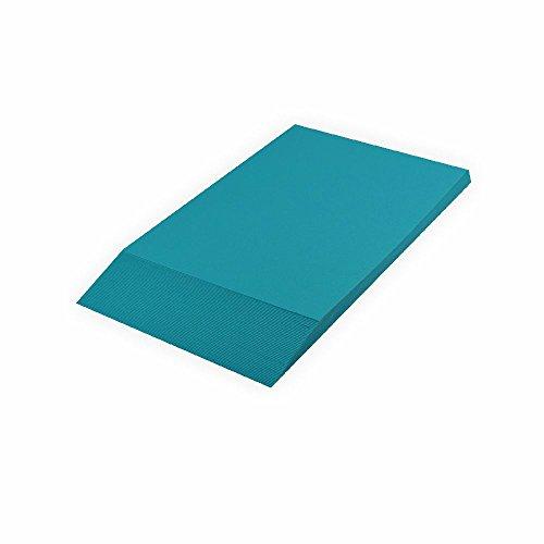 Creleo Tonpapier 130 g, A4 100 Blatt, türkis