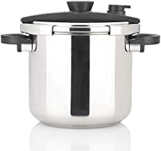 Zavor EZLock 10 Quart Dual-Setting Pressure Cooker & Canner with Universal Locking Mechanism, Recipe Book and Steamer Basket - Polished Stainless Steel (ZCWEZ05)