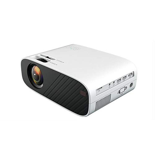 Mini Projector Native 1280 * 720 HD LED Video Portable Home Theater Beamer Option Wired Sync Display for Iphone Ipad|, Ai Android version