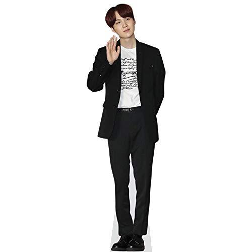 Celebrity Cutouts Suga (BTS) Pappaufsteller Mini