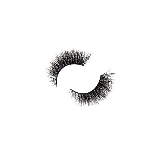 Luxurious 6D Volume False Mink Lashes | Eyelash Extension Effect 100% Handmade Fake Eyelashes 30 Times Reusable | Natural & Dramatic Styles Non Magnetic 1 Pair Lash Strip Set | Cruelty Free | Non 3D