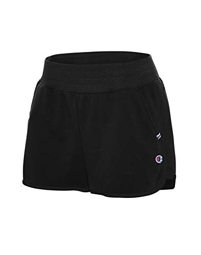 Champion Women's Campus French Terry Short, Black, Small