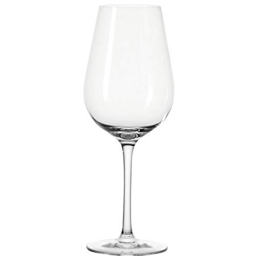 Leonardo Tivoli Rotwein-Glas, Rotwein-Kelch mit gezogenem Stiel, spülmaschinenfeste Wein-Gläser, 6er Set, 580 ml, 020964