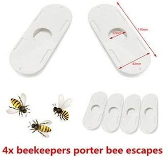FidgetKute 4X Beekeepers Porter bee Escapes White Useful Beekeeping Beekeeper Tools HOT ^