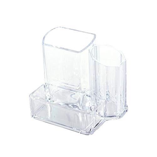 Multifunctionele Doorzichtig acryl Desktop cosmetische lippenstift Borstel Makeup Storage Case Box Organizer
