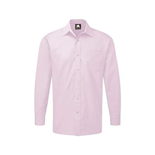 ORN Workwear 5410 The Essential L/S - Camiseta, color lila, talla 15