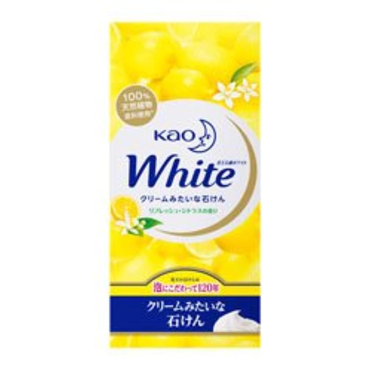 乳ディスパッチ政治的【花王】ホワイト リフレッシュ?シトラスの香り レギュラーサイズ 85g×6個入 ×20個セット