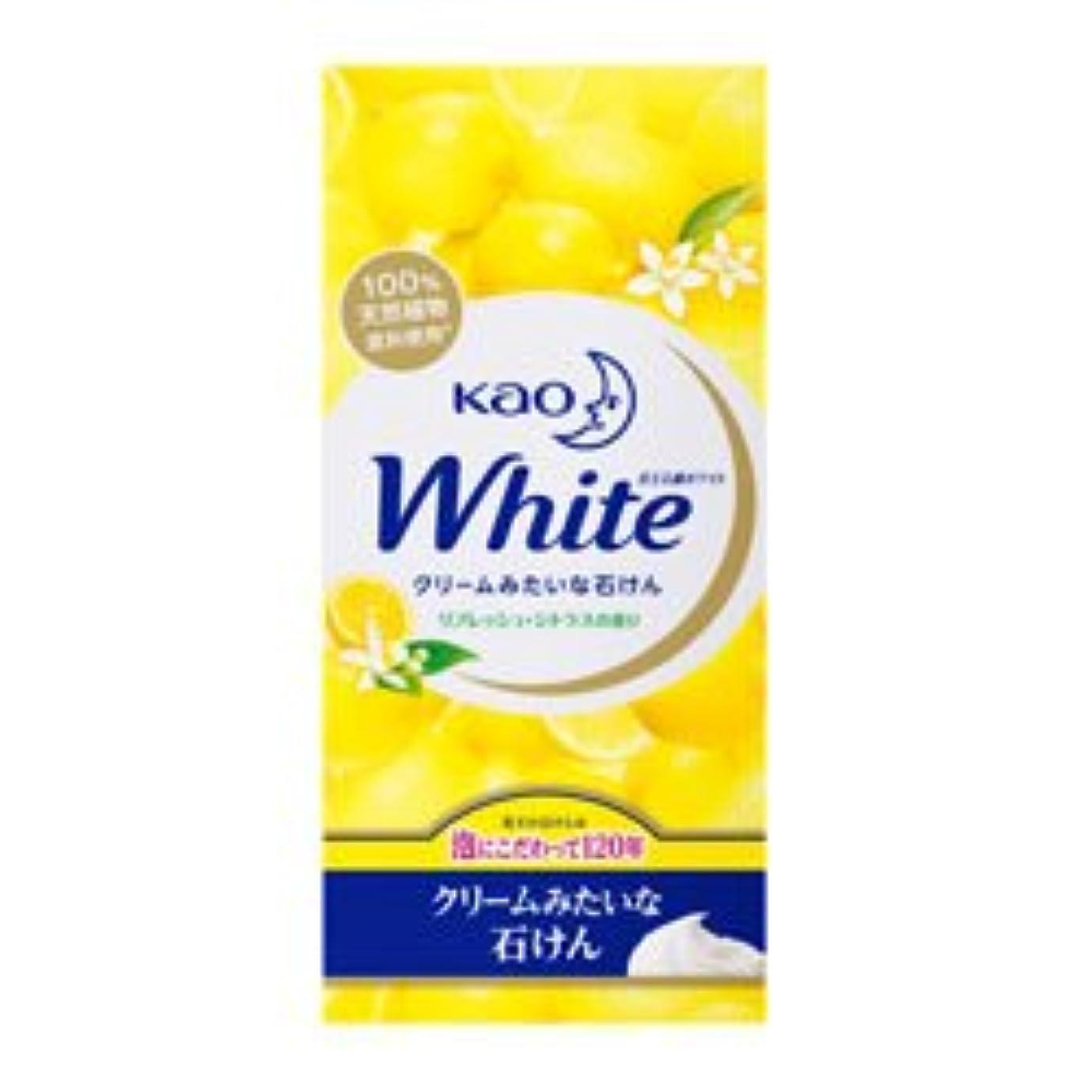 に変わる従来の一次【花王】ホワイト リフレッシュ?シトラスの香り レギュラーサイズ 85g×6個入 ×20個セット
