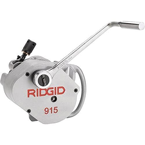 RIDGID 88232 Modelo 915 Ranuradora de Rodillo con Juego de Rodillos de 2'-6', Espesor 10
