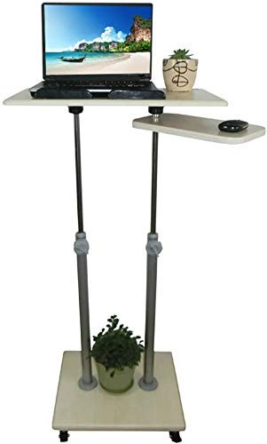 Cxcdxd Nest of Tische Beistelltische verstellbarHöhenständer Stabiler multifunktionaler Podium- / Rednerpult- / Laptopständer!Hervorragende Verwendung für Klassenzimmer, Büros und zu Hause!(Größe
