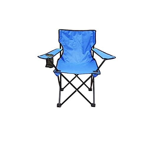 Sillas plegables de camping, silla de campamento portátil, sillas de camping ligeras para playa, senderismo, viajes, picnic, campamento sillas plegables (color: 3) ZJ666 (color: 2)