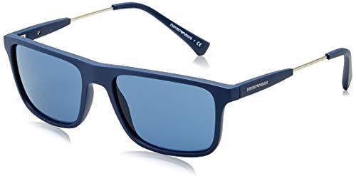 Emporio Armani Herren 0EA4151 Sonnenbrille, Blue/Blue, 56/18/145