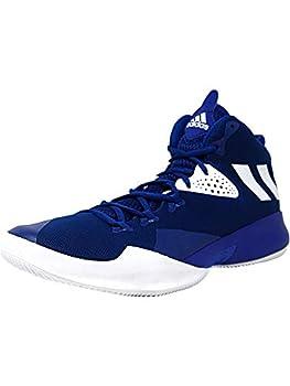 adidas Men s Dual Threat 2017 Collegiate Royal/Footwear White High-Top Basketball Shoe - 9M
