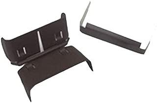Downspout Hinge: Flip Up Gutter Extension Hinge (3 x 4 A, Royal Brown)
