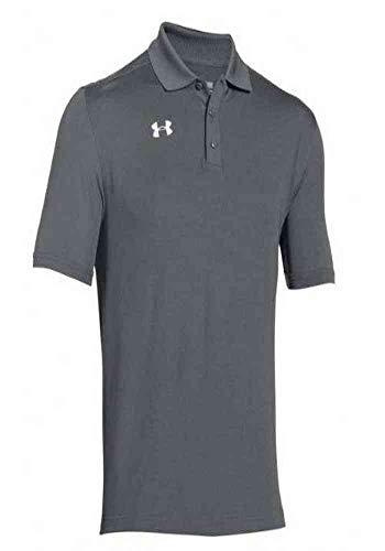 Under Armour Team Armour Men's Golf Polo (Graphite, X-Large)