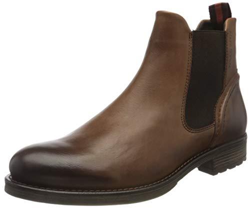 Marc O'Polo 725005001125, Stivali Chelsea Uomo, 720 Cognac, 40 EU