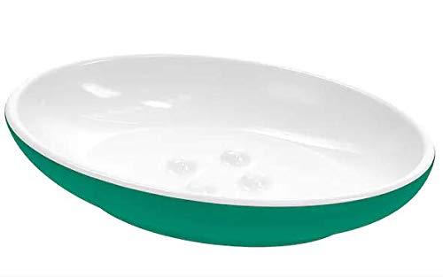 Mallx IKEA EKOLN Jabonera, Color Verde, jabón, Pero también Joyas u Otros Objetos pequeños Que fácilmente desaparecen.