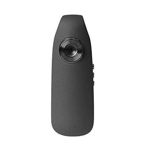Minicámara de cuerpo oculta CAMMHD 1080P Full HD, autonomía de 3 a 7 horas, videocámara con clip de bolsillo portátil (64 GB)